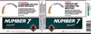 A Canadian Number 7 cigarette package showing warning graphics