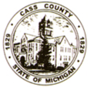 Cass County, Michigan - Image: Cass seal