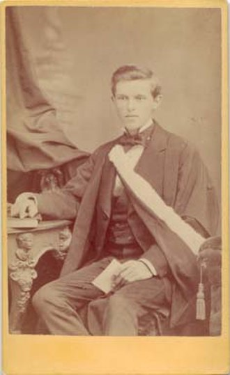 Law Society of Ontario Archives - Charles Holman, 1872?