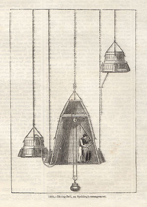 Charles Spalding - Charles Spalding Diving Bell, c. 1860