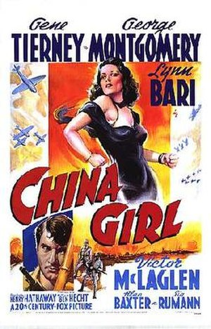 China Girl (1942 film) - Theatrical release poster