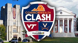 Virginia–Virginia Tech rivalry - Image: Commonwealth Clash Virginia VT rivalry