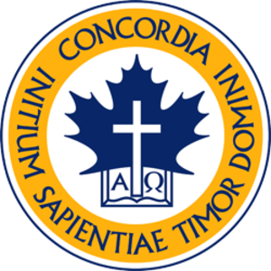 Concordia University of Edmonton - Image: Concordia University of Edmonton Crest