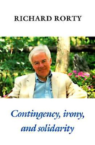 Contingency, Irony, and Solidarity - Cover of the first edition
