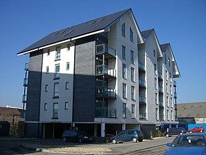 Morfa, Swansea - Copper Quarter apartment block