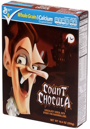 Monster cereals - Image: Count Chocula Box Small
