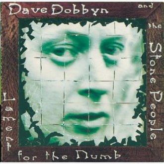 Lament for the Numb - Image: Cover for Lament for the Numb, Dave Dobbyn