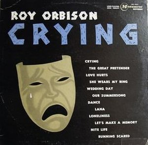 Crying (album) - Image: Crying Roy Orbison