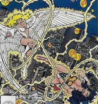Silver Swan (comics) - Image: DC Silver Swan