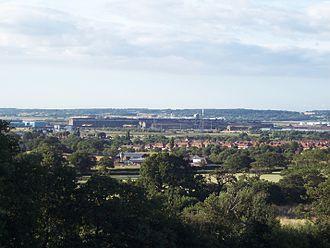 Aston Park, Flintshire - Image: Dee Industry