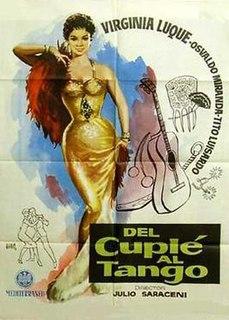 <i>Del cuplé al tango</i> 1958 film