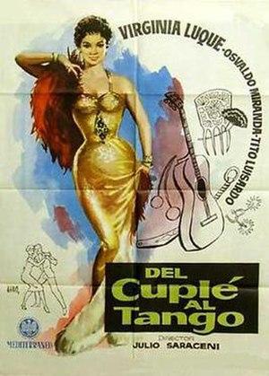 Del cuplé al tango - Image: Del cuple al tango