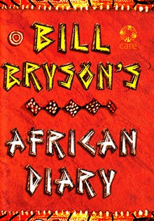 Doubleday, Bill Bryson, 2002, African Diary book cover.jpg