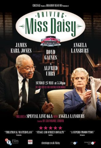 Driving Miss Daisy (2014 film) - Image: Driving Miss Daisy 2014 poster