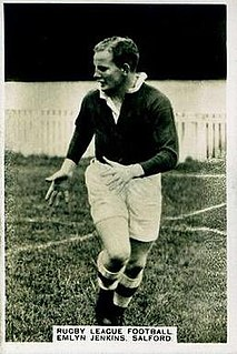 Emlyn Jenkins Welsh rugby union footballer, and rugby league footballer and coach