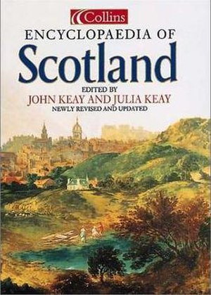 Collins Encyclopaedia of Scotland - The cover of the 2nd edition of the Encyclopaedia