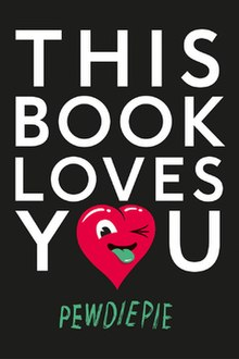 "English Cover of ""This book loves you"", a book by PewDiePie.jpg"