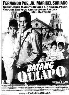 <i>Batang Quiapo</i> 1986 Filipino film directed by Pablo Santiago