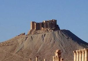 Druze - Fakhreddin Castle in Palmyra