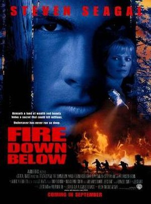 Fire Down Below (1997 film) - Theatrical release poster