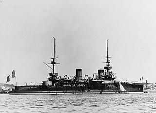 French battleship <i>Bouvet</i> Pre-dreadnought battleship of the French Navy