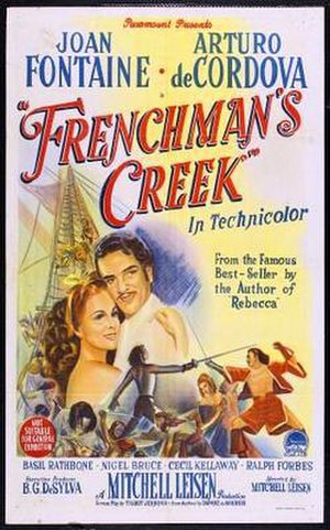 Frenchman's Creek (film) - Theatrical poster