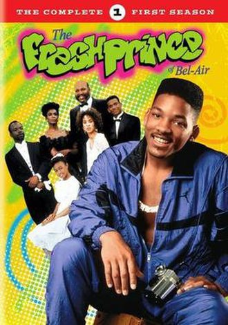 The Fresh Prince of Bel-Air (season 1) - DVD cover