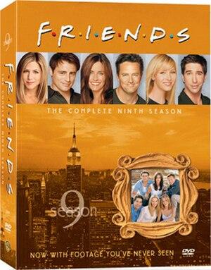 Friends (season 9) - Image: Friends Season 9 DVD