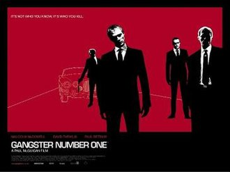 Gangster No. 1 - Theatrical release poster