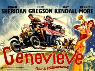 <i>Genevieve</i> (film) 1953 British comedy film directed by Henry Cornelius