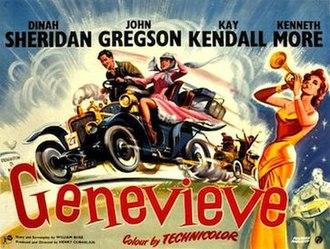 Genevieve (film) - Original 1953 film lobby card