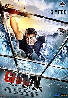 <i>Ghayal: Once Again</i> 2016 film by Sunny Deol, Rahul Rawail