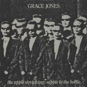 The Apple Stretching - Image: Gracejonesapplenippl e