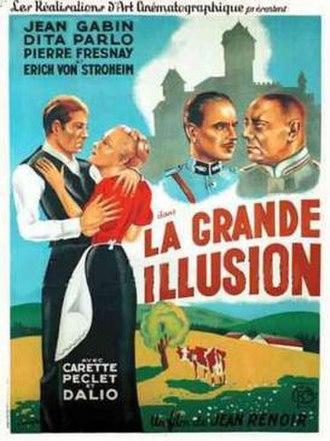 La Grande Illusion - French film poster