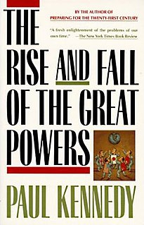 <i>The Rise and Fall of the Great Powers</i> book by Paul Kennedy