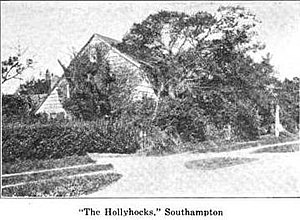 Halsey House (Southampton, New York) - Halsey House in the early twentieth century