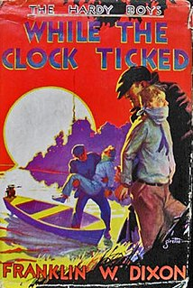 <i>While the Clock Ticked</i> book by Franklin W. Dixon