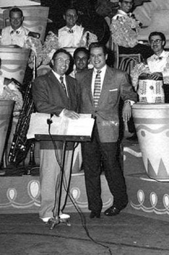 Wilbur Hatch - Wilbur Hatch and Desi Arnaz. Marco Rizo sits at the piano