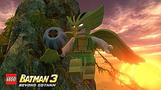 Hawkgirl - Hawkgirl in a promotional image for Lego Batman 3: Beyond Gotham.
