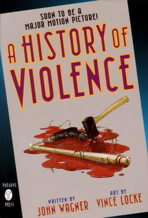 A History of Violence (comics) - First edition cover
