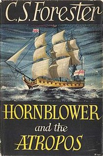 <i>Hornblower and the Atropos</i> book by C.S. Forester