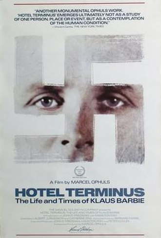Hôtel Terminus: The Life and Times of Klaus Barbie - Image: Hotel terminus movie poster md