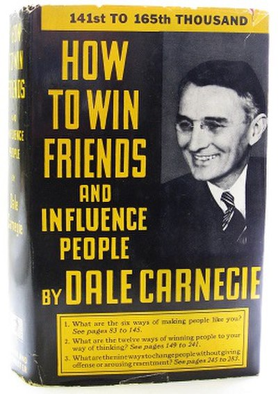 Picture of a book: How To Win Friends And Influence People