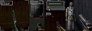 Deus Ex (video game) - Image: How to pass obstacles in Deus Ex