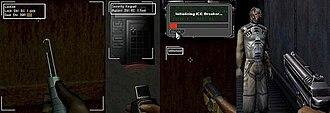 Deus Ex (video game) - Image: How to pass obstacles in Deus Ex