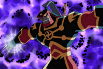 Imperiex - Imperiex as he appears in the animated Legion of Super Heroes.