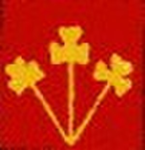 8th Infantry Division (India) - Divisional badge during World War II.