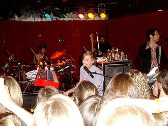 Jack's Mannequin - Jack's Mannequin performing at The Grog Shop in Cleveland, Ohio, November 10, 2008.