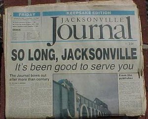 Jacksonville Journal - Image: Jax Journal