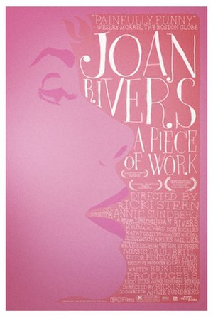 Joan Rivers: A Piece of Work - Theatrical release poster